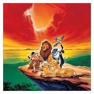 Lion King. Размер: 60 х 60 см